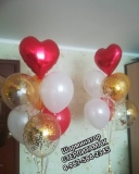 доставка воздушные шары Стерлитамак на 14 февраля день влюбленных сердца сердечки стерлитамак шары на День Валентина Стерлитамак шарминатор гелевые шары гелиевые шары в Стерлитамак геливые шарики заказать недорого