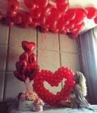 сердце из шаров сердце стерлитамак 14 февраля шарики на день влюбленных стерлитамак