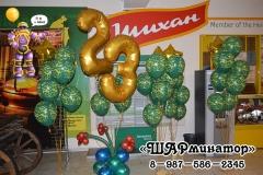 оформление на 23 февраля стерлитамак Шарминатор фото пример камуфляжные шары