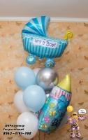 шарики на выписку роддом стерлитамак шары стерлитамак с доставкой гелиевые шары Шарминатор оформление шарами в Стерлитамаке