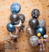 На выписку из роддома шары в Стерлитамаке, шары на выписку Стерлитамак, встреча из роддома Стерлитамак заказать шары,  ШАРминатор