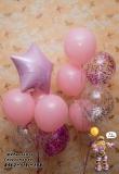 девочке шарики  доставка шаров в Стерлитамаке, шарминатор Стерлитамак , гелиевые шары в Стерлитамак. воздушные шары Стерлитамаке недорого