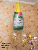 гелиевые шары Стерлитамак, доставка шаров в Стерлитамаке шампанское