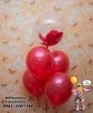 гелиевые шары Стерлитамак, доставка шаров в Стерлитамаке  с перьями баблс