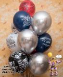 гелиевые шары Стерлитамак, доставка шаров в Стерлитамаке  мужской сет
