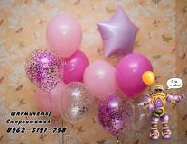 гелиевые шары Стерлитамак, доставка шаров в Стерлитамаке  для девочки