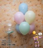 Макарунс и баблс с перьями  шары от ШАРминатора. Геливые  шары стерлитамак, гелевые шары стерлитамак доставка, гелиевые шары стерлитамак ШАрминатор