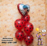 Леди баг  шары от ШАРминатора. Геливые  шары стерлитамак, гелевые шары стерлитамак доставка, гелиевые шары стерлитамак ШАрминатор