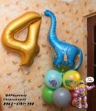 Динозавры от ШАРминатора. Геливые  шары стерлитамак, гелевые шары стерлитамак доставка, гелиевые шары стерлитамак ШАрминатор