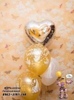 шары на девичник Стерлитамаке, шарминатор, заказать шарики на девичник с надписями, воздушные шары +на девичник