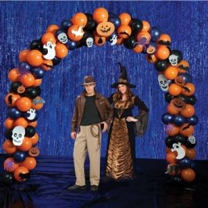 арка хэллоуин шары, хэллоуин стерлитама оформление праздника хэллоуин, шары у шарминатора, шары стерлитамак, доставка шаров стерлитамак, гелиевые шары стерлитамак helloween