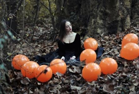 оранжевые шары хэллоуин шары, хэллоуин стерлитама оформление праздника хэллоуин, шары у шарминатора, шары стерлитамак, доставка шаров стерлитамак, гелиевые шары стерлитамак helloween
