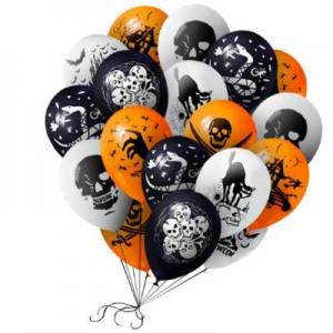 латекс хэллоуин шары, хэллоуин стерлитама оформление праздника хэллоуин, шары у шарминатора, шары стерлитамак, доставка шаров стерлитамак, гелиевые шары стерлитамак helloween