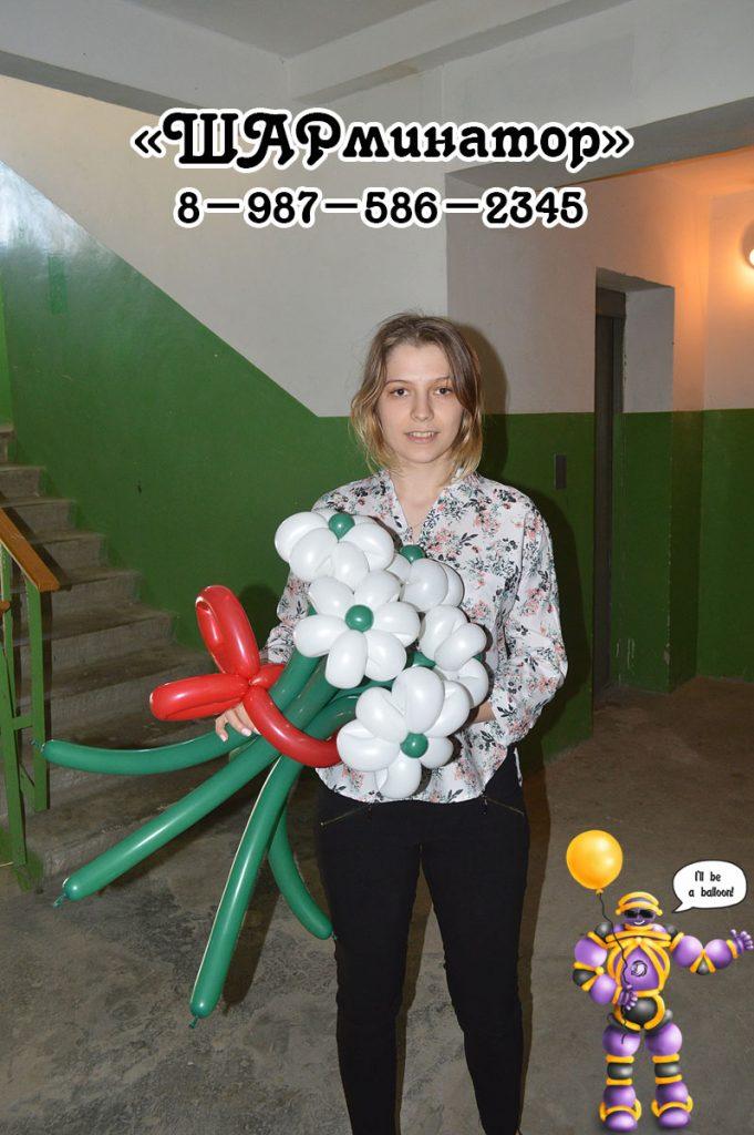 букет ромашек из шаров Стерлитамак