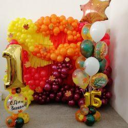 заказать гелиевые шары с 1 сентября в Стерлитамаке шары на День знаний Стерлитамак осенние шары
