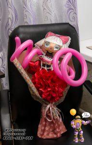 букет из шаров Стерлитамак , заказать букет из шариков Шарминатор гоформление стерлитамак куклы лол LOL