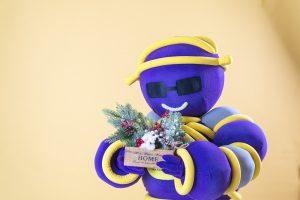 Шарминатор поздравление на дом заказать стерлитамак, аниматор стерлитамак, ростовая кукла Стерлитамак, Шарминатор кукла доставка шаров гелиевые шарики