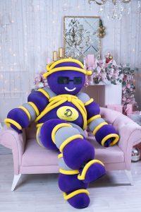 Шарминатор поздравление на дом заказать стерлитамак, аниматор стерлитамак, ростовая кукла Стерлитамак, Шарминатор кукла доставка шаров гелиевые шарики недорого