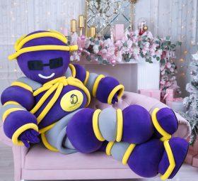 Шарминатор поздравление на дом заказать стерлитамак, аниматор стерлитамак, ростовая кукла Стерлитамак, Шарминатор кукла доставка шаров гелиевые шарики недорого заказать